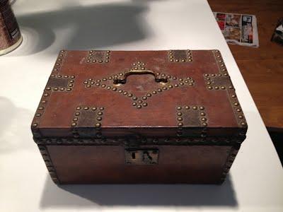 Deed box from Foxbank