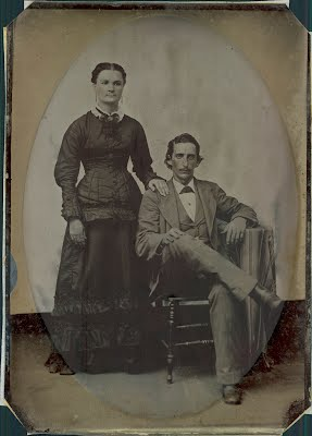 Richard Lynes and his wife Annie Elizabeth Sanders
