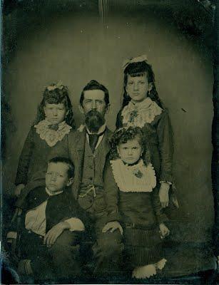 Samuel William Lynes and children
